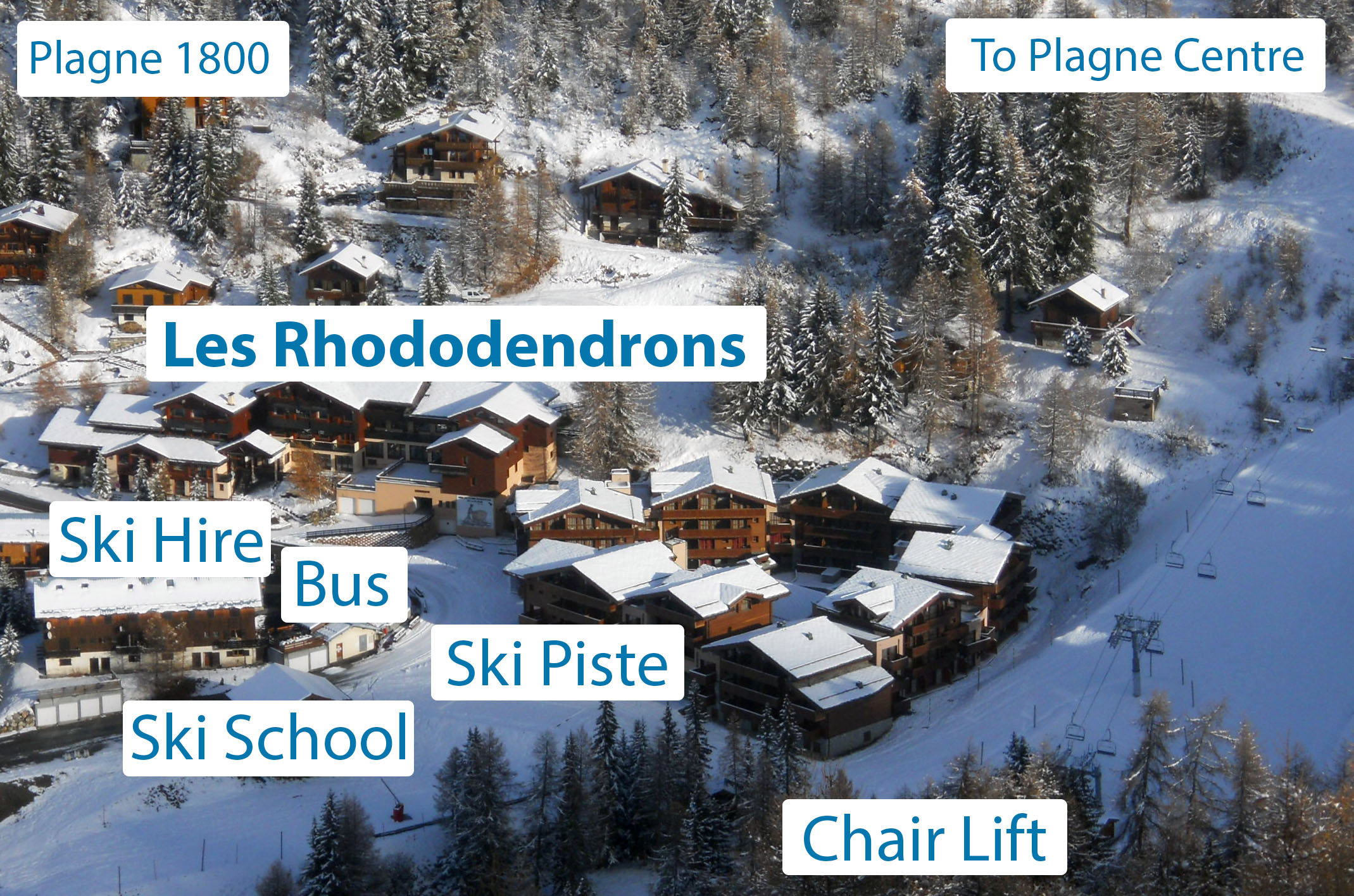 Chalethotel les Rhododendrons Chalet Hotel Accommodation in